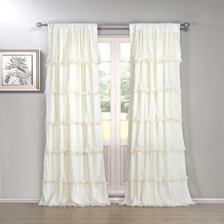 The Gray Barn Pasanen 84-inch Ruffled Curtain Panel