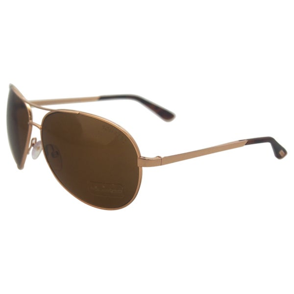 f836c467a4 Shop Tom Ford FT0035 Charles 28H - Shiny Rose Gold Polarized - Free  Shipping Today - Overstock.com - 11950139
