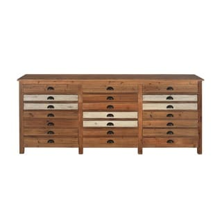 Aurelle Home Reclaimed Drawer Cabinet