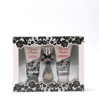 Christina Aguilera Signature Women's 3-piece Gift Set