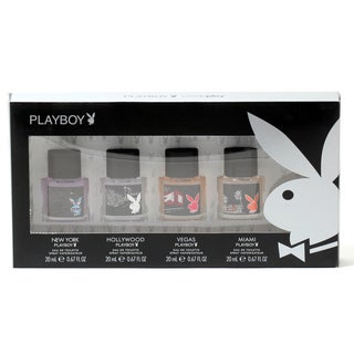 Coty Playboy Men's 4-piece Coffret