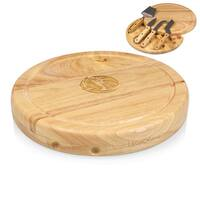 Dallas Mavericks Picnic Time Circo Wood and Stainless Steel Cheese Board and Tools Set