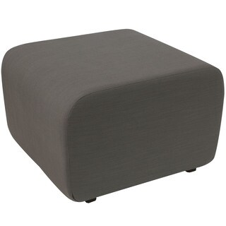 angelo:HOME Grey Linen Cocktail Ottoman