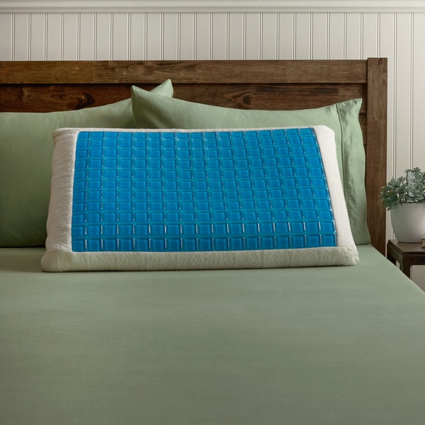 Memory Foam Pillow with Gel Cover