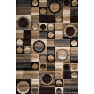 Christopher Knight Home Winona Carmen Brown Geometric Rug (8' x 10')