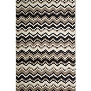 Christopher Knight Home Prudence Mariah Grey Chevron Rug (8' x 10')