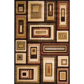 Christopher Knight Home Violetta Dawn Multi Brown Geometric Rug (8' x 10')