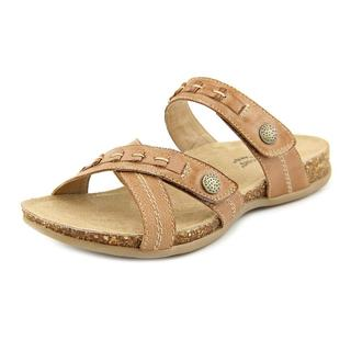 Earth Origins Women's Tamra Brown Leather Sandals