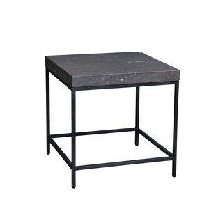 Aurelle Home Stone Marble Side Table