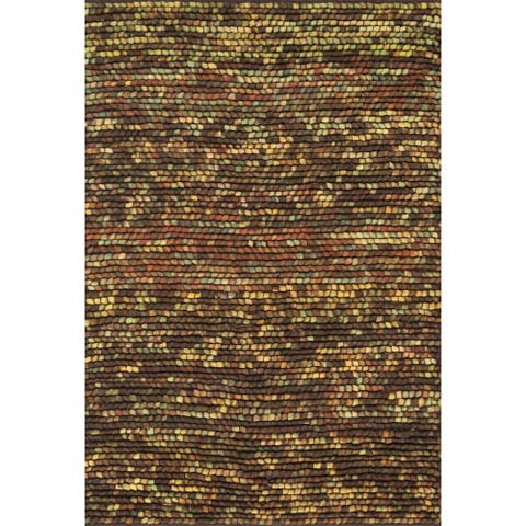 Alexander Home Prince Hand-woven Felted Wool Rug