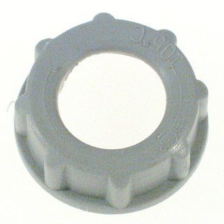 "Halex 97525 1-1/2"" RGD Plastic Insulating Bushing"