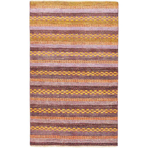 eCarpetGallery Ziegler Pink Wool/Cotton Hand-knotted Chobi Rug (3'9 x 6'2)