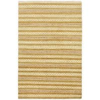 eCarpetGallery Ivory Wool Hand-Knotted Rug (4'0 x 6'1)