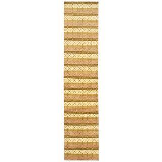 eCarpetGallery Finest Ziegler Chobi Ivory Wool Hand-knotted Rug (2'7 x 12')