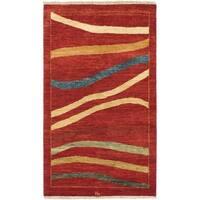 eCarpetGallery Ziegler Chobi Red Wool Hand-knotted Rug (2'11 x 4'10)