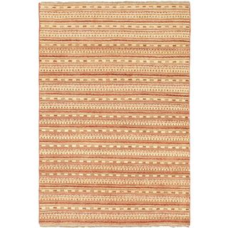 eCarpetGallery Finest Ziegler Chobi Pink Wool Hand-knotted Rug (4'0 x 6'0)