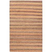 eCarpetGallery Finest Ziegler Chobi Pink/Brown Cotton/Wool Hand-knotted Rug (4'0 x 6'1)
