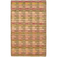 eCarpetGallery Finest Ziegler Chobi Ivory/Beige Cotton/Wool Hand-knotted Rug (4'0 x 6'3)