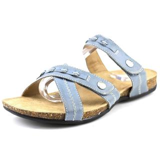 Earth Origins Women's Tamra Blue Leather Sandals