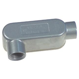 "Halex 58305 1/2"" RGD Threaded Conduit Bodies Type LL"