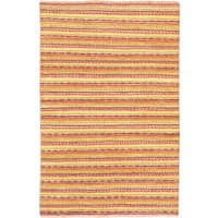 eCarpetGallery Multicolor Wool Abstract Hand-knotted Rug (4'1 x 6'2)