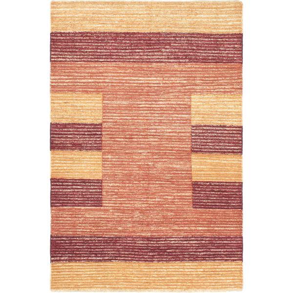 eCarpetGallery Finest Ziegler Chobi Brown/Copper Cotton/Wool Hand-knotted Rug (4'6 x 6'10)