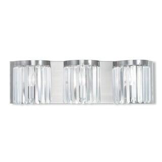 Livex Lighting Ashton 3-light Brushed Nickel Bath Vanity