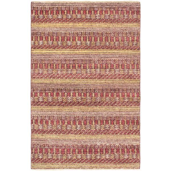 eCarpetGallery Red Wool Hand-knotted Finest Ziegler Chobi Rug (4'1 x 6'2)