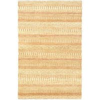 eCarpetGallery Ziegler Ivory Wool Hand-knotted Chobi Rug (4'0 x 6'1)