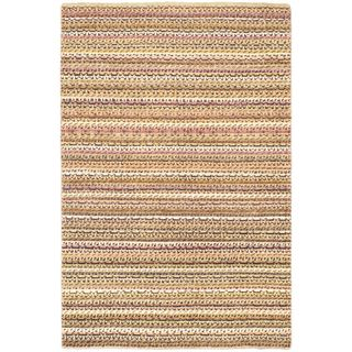 eCarpetGallery Finest Ziegler Chobi Ivory/Beige Cotton/Wool Hand-knotted Rug (4'1 x 6'1)