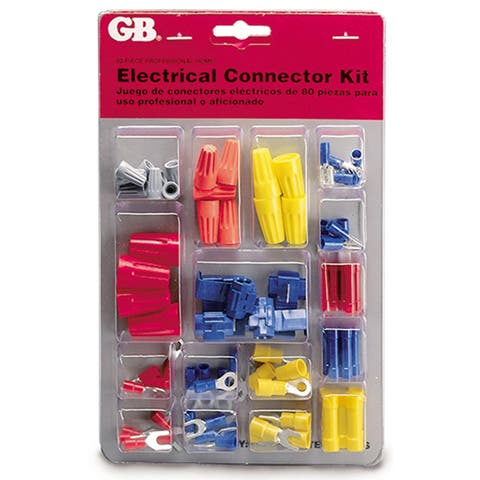 GB Gardner Bender TK-100 Wire Connector & Terminal Kit 80 Piece