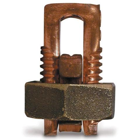 GB Gardner Bender GSBC-4 # 8 To #4 AWG Soild Copper Split Bolt Connector