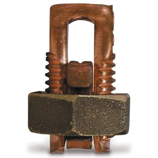 GB Gardner Bender GSBC-4 # 8 To #4 AWG Soild Copper Split Bolt Connector