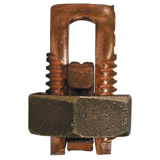 GB Gardner Bender GSBC-3/0 #2 To #000 AWG Solid Copper Split Bolt Connector