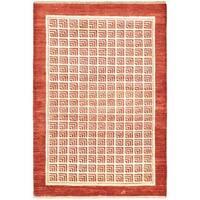 eCarpetGallery Finest Ziegler Chobi Pink Wool Hand-knotted Rug (4' x 5'11)