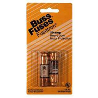Bussman BP/FRN-R-40 40 Amp 250 Volt Time Delay Cartridge Fuses 2-count