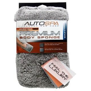 Carrand 45604AS Auto Spa Microfiber Fleece Sponge