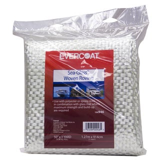 Evercoat 100946 50-inch x 1 Yard Sea-Glass Woven Roving Fiberglass Fabric