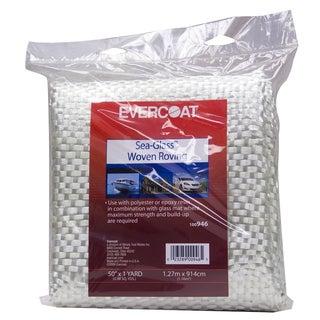 Evercoat 100946 50-inch x 1 Yard Sea-Glass Woven Roving Fiberglass Fabric