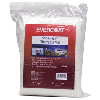Evercoat 100941 3 Square Yard Sea-Glass Fiberglass Mat