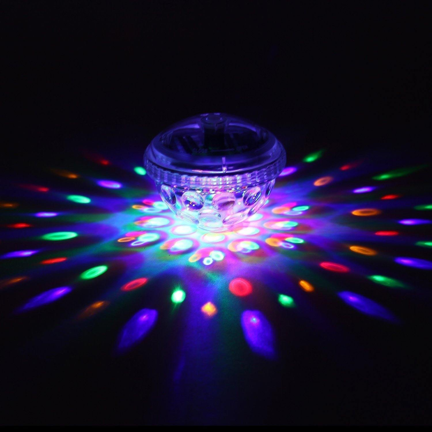 Coutlet Underwater LED Disco Light with Five Light Patter...