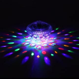 Underwater LED Disco Light with Five Light Patterns