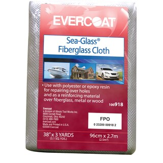 Evercoat 100918 38-inch x 3 Yard Sea-Glass Fiberglass Cloth