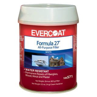 Evercoat 100571 1 Pint Formula 27 All Purpose Filler