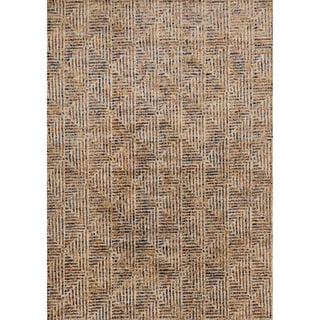 Phaedra Abstract Ivory/ Multi Rug (9'2 x 13')