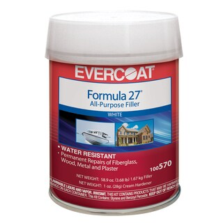 Evercoat 100570 1 Quart Formula 27 All Purpose Filler