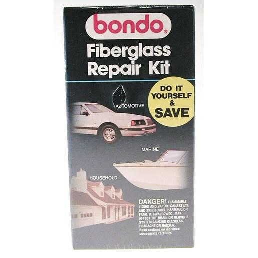 Bondo 420 Fiberglass Repair Kit (Car care/cleaning)