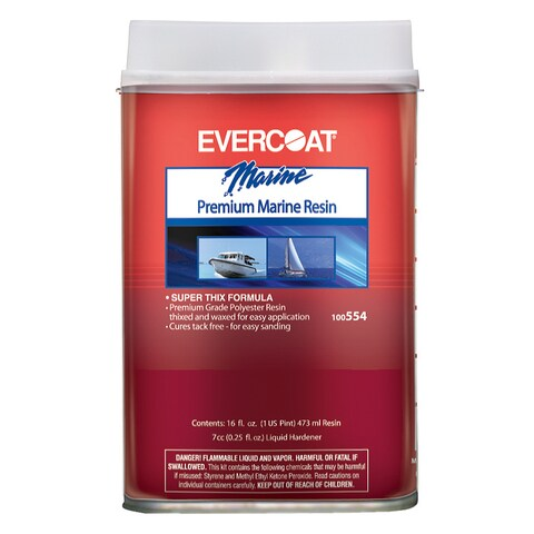 Evercoat 100554 1 Pint Premium Marine Resin