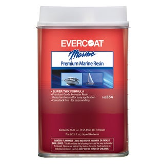 Evercoat 100554 1 Pint Premium Marine Resin