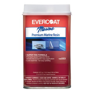 Evercoat 100553 1 Quart Premium Marine Resin